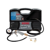 ROWI DKP 1100/2 OF Set Compact Air Kompressor 1,1 kW + Zubehör-Set 6-teilig -